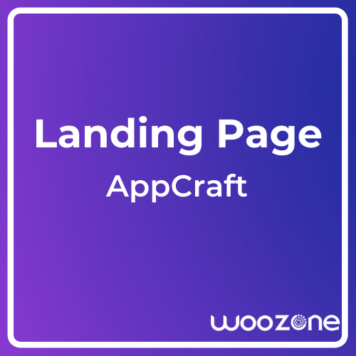 AppCraft Creative Template for Mobile App Landing Page