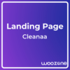 Cleanaa Cleaning Services Landing Page Template