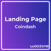 Cryptocurrency Saas Landing Page Template Coindash