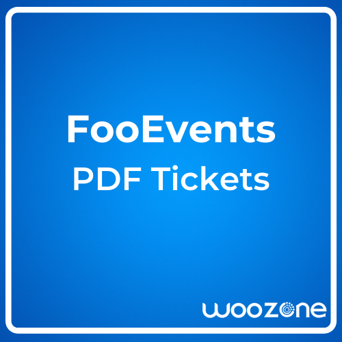 FooEvents PDF Tickets