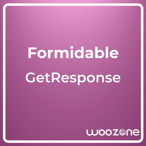Formidable Forms GetResponse Add-On