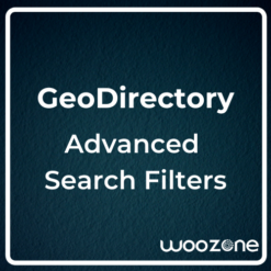 GeoDirectory Advanced Search Filters