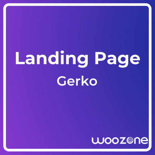 Gerko Product Landing Page Template with Bootstrap