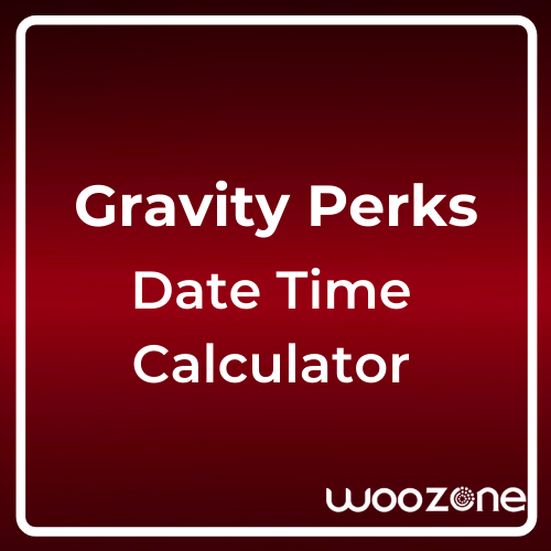 Gravity Forms Date Time Calculator