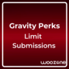 Gravity Perks Limit Submissions