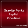 Gravity Perks PayPal One-time Fee