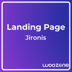 Jironis App Landing One Page HTML Template