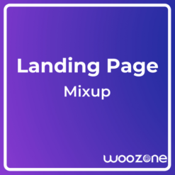 Mixup App Landing Page HTML Template