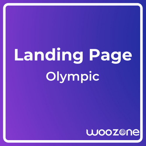 Olympic One Page Parallax Template