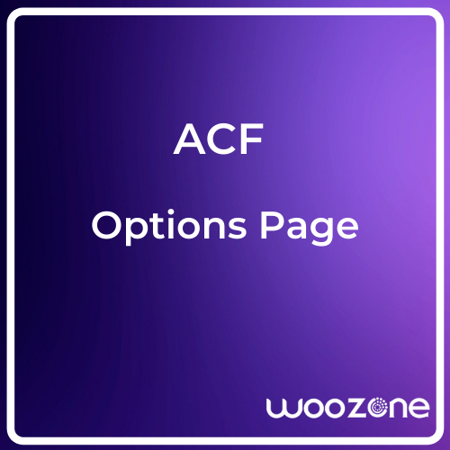 acf options page
