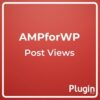 Post Views for AMP
