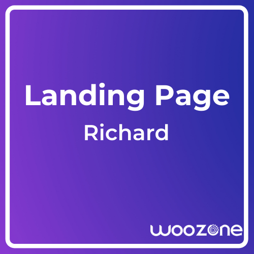 Richard Easy Onepage Personal Template