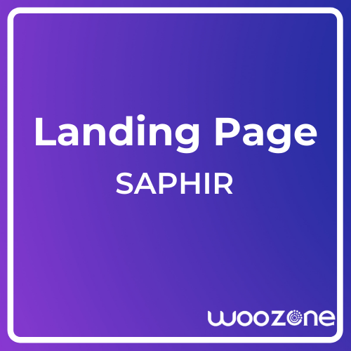 SAPHIR The Coming Soon Template