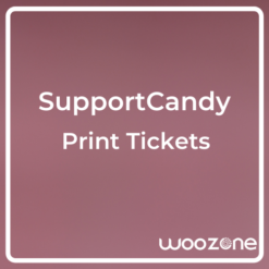SupportCandy Print Tickets