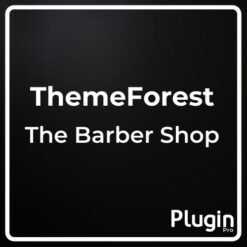 The Barber Shop One Page Theme For Hair Salon