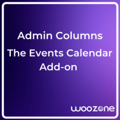 Admin Columns Pro The Events Calendar Addon