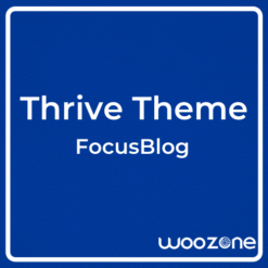 Thrive Theme FocusBlog