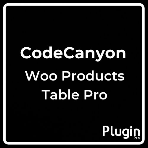 Woo Products Table Pro Making Quick Order Table