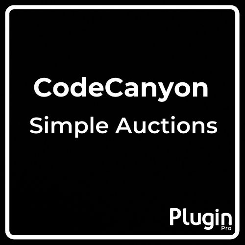WooCommerce Simple Auctions WordPress Auctions