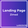 Zimed App Landing Page HTML Template