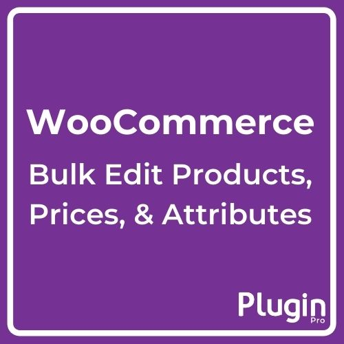 Bulk Edit Products Prices and Attributes