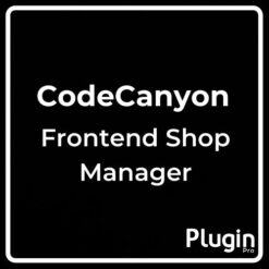 WooCommerce Frontend Shop Manager