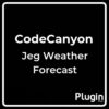 Jeg Weather Forecast Add-on for Elementor and WPBakery